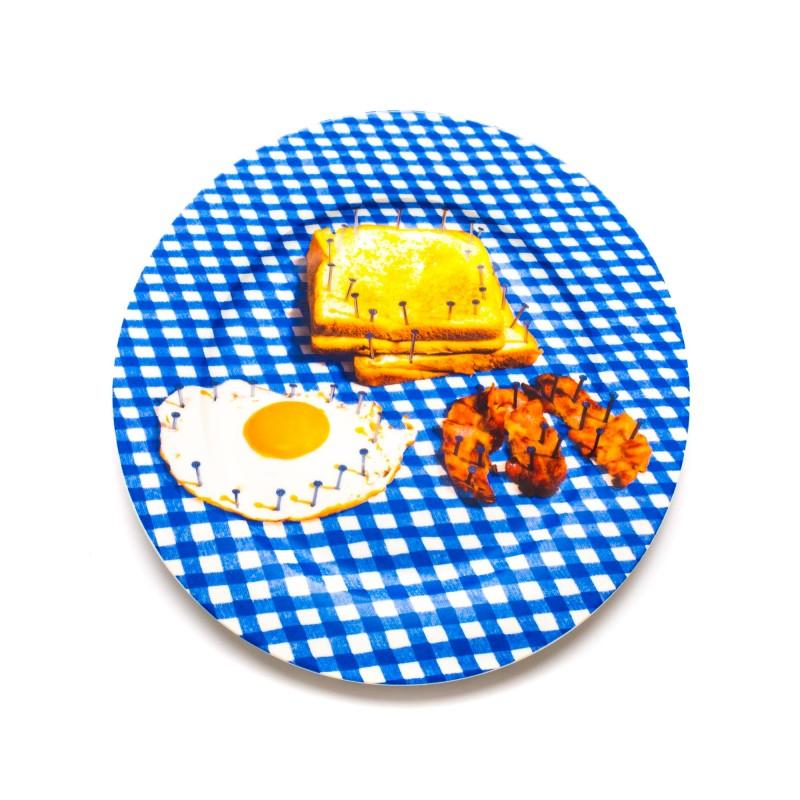 assiette c ramique breakfast seletti site fran ais de vente d 39 objets de. Black Bedroom Furniture Sets. Home Design Ideas