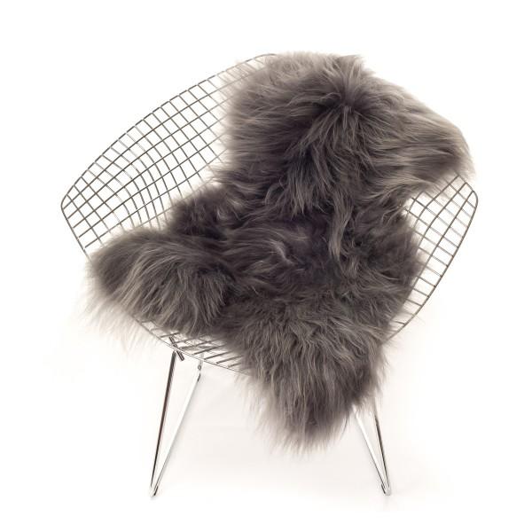 peau de mouton islandais grise the organic sheep site fran ais de vente d. Black Bedroom Furniture Sets. Home Design Ideas