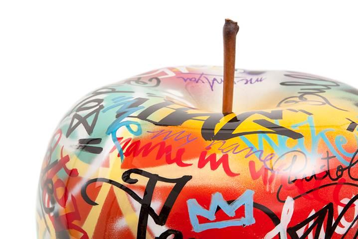 pomme cramique graffiti - Pomme Ceramique Pour Decoration