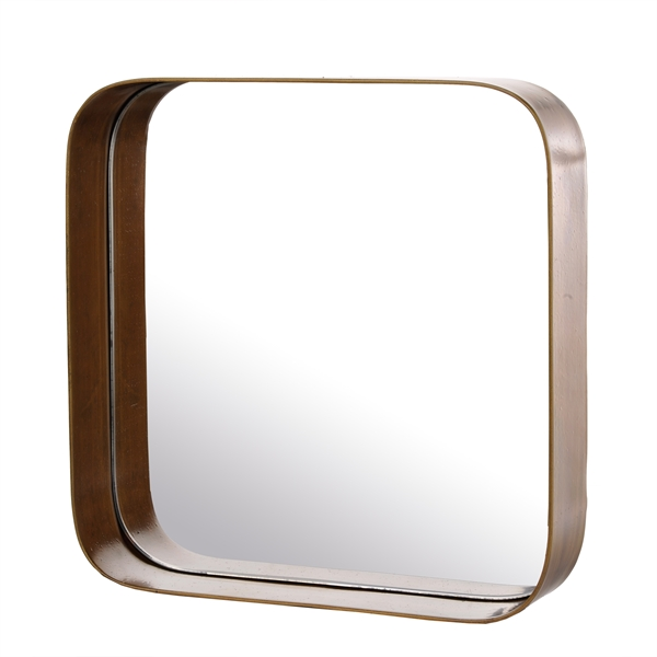 Miroir m tal edge pols potten site for Metal miroir