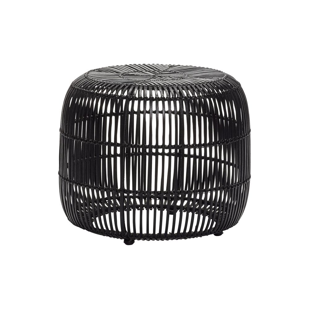tabouret rond rotin hubsch site fran ais de vente d 39 objets de d coration. Black Bedroom Furniture Sets. Home Design Ideas