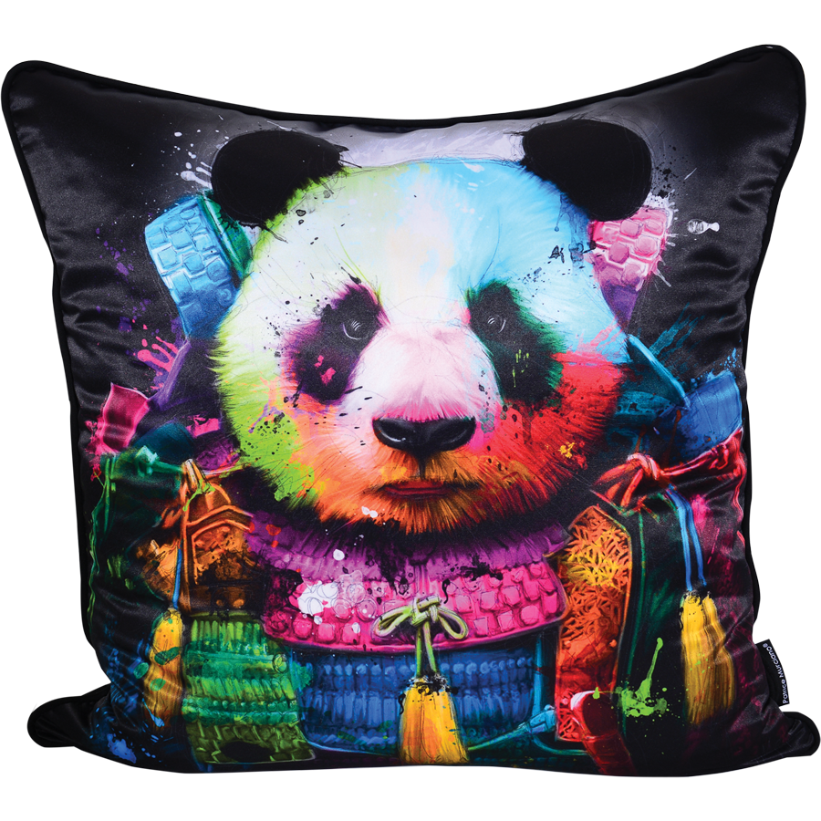 coussin panda cadraven ou eyefood factory : www.groupdeco.fr : site