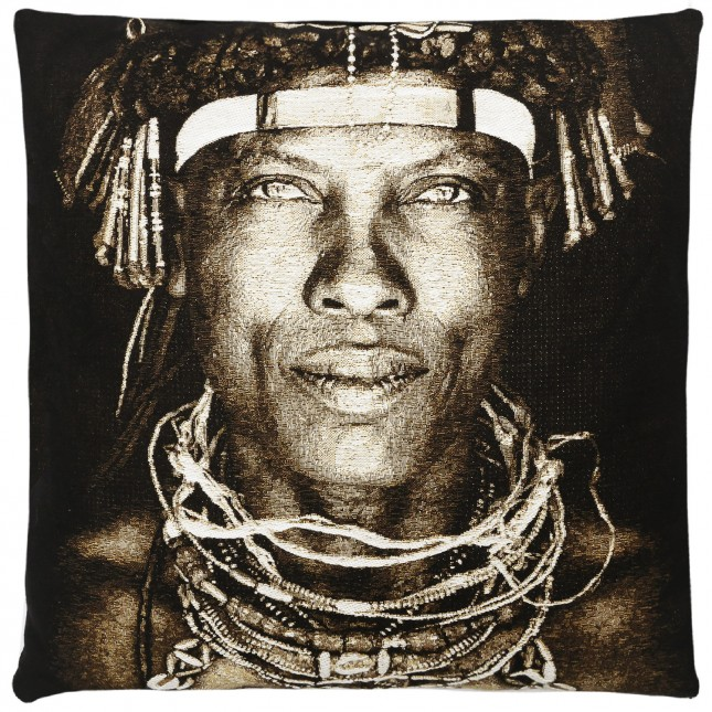 coussin tribu ovakakaona d 39 angola fs home collection site fran ais de vente. Black Bedroom Furniture Sets. Home Design Ideas