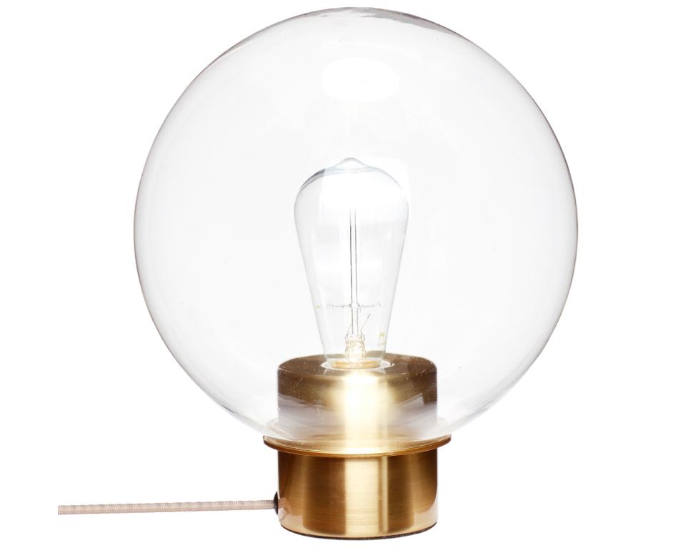 Lampe de table ronde metal et verre 5 Nouveau Lampe Verre Iqt4