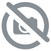 Chair lounge velours bleu